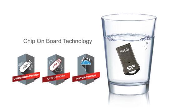 فلش مموری سیلیکون پاور مدل Touch T01 ظرفیت 16G