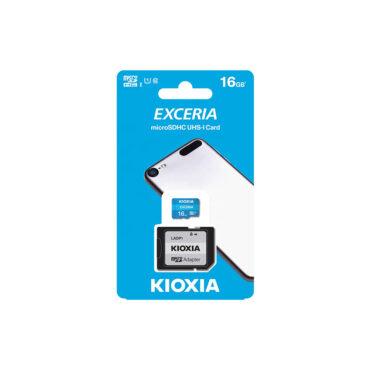 کارت حافظه Kioxia EXCERIA سرعت 100Mbps ظرفیت 16GB