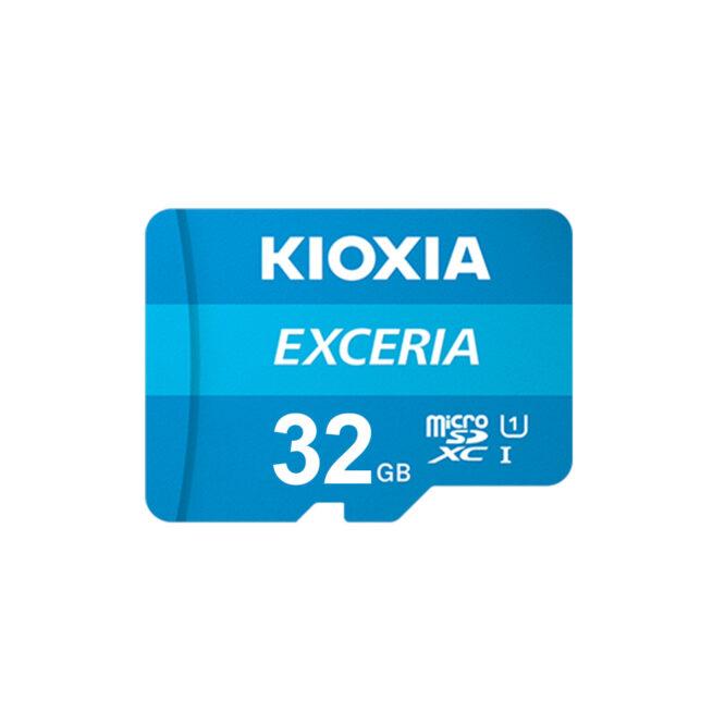 کارت حافظه Kioxia EXCERIA سرعت 100Mbps ظرفیت 32GB
