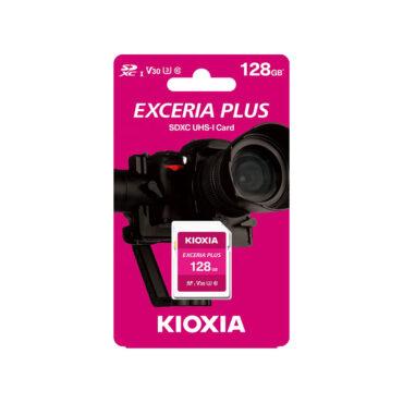 کارت حافظه SD Memory Card Kioxia Plus سرعت 100Mbps ظرفیت 128GB