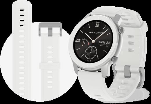 ساعت هوشمند امیزفیت مدل GTR 42mm قرمز